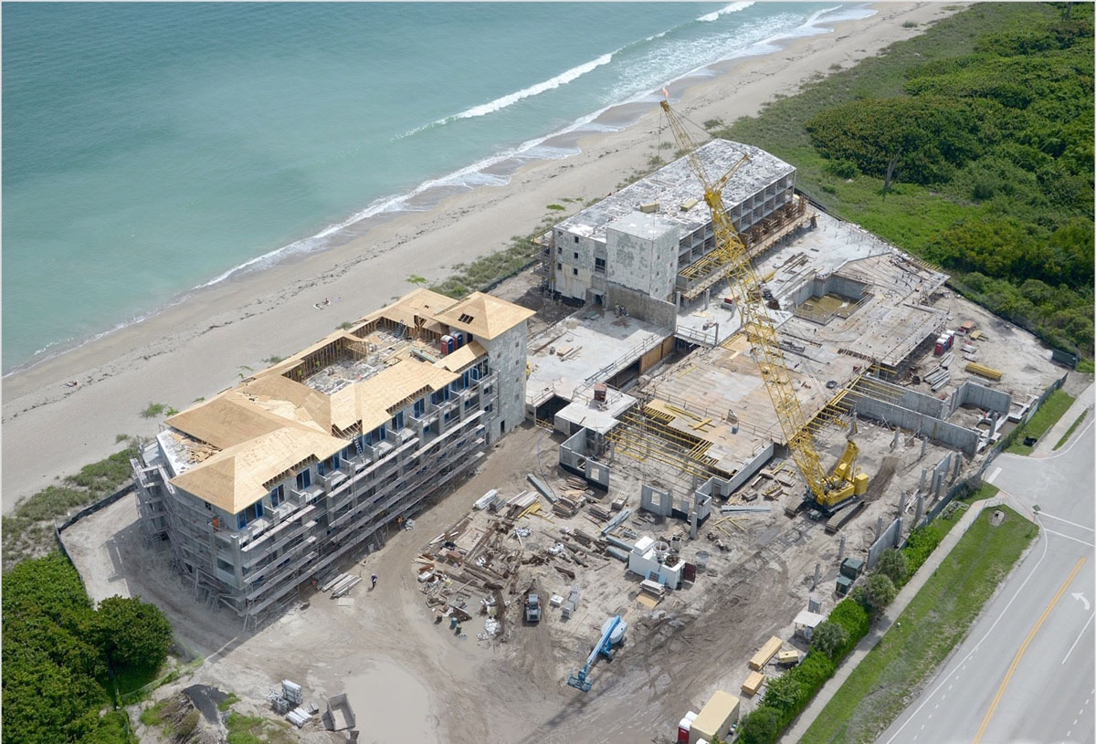 Oceanside Resort under construction